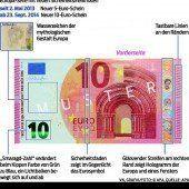 Der neue Zehn-Euro-Schein