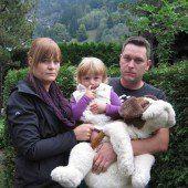 Eine Familie in Trauer