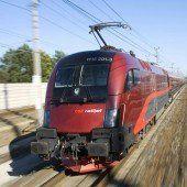 Bauarbeiten: längere Fahrzeit nach Wien