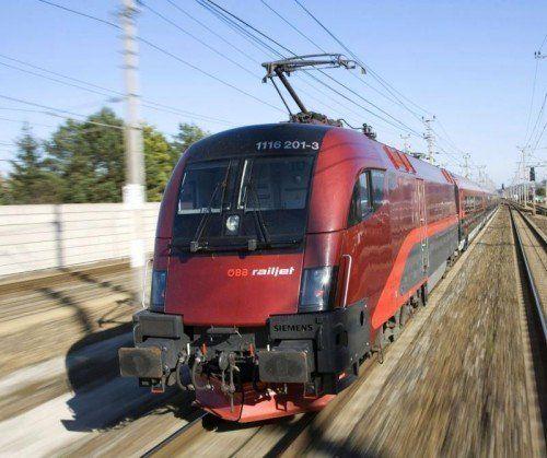 Bald fahren stündlich Railjets zwischen Vorarlberg und Tirol, allerdings erst ab Feldkirch. Foto: ÖBB