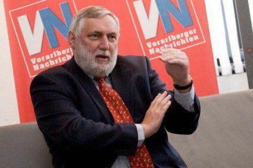"""Fischler: """"EU gab nur Empfehlung für nachhaltiges Fracking ab. Das ist ein frommer Wunsch.""""  FOTO: KAMPER"""