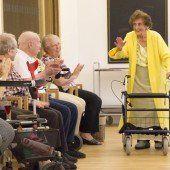 Modegeschäft im Pflegeheim wurde eröffnet
