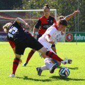 Rankweils Frauen im ÖFB-Cup chancenlos