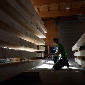 Rüdisser: Unterstützen Strategie für Holzbau
