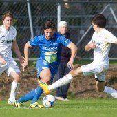 Langenegg erkämpft sich mit 1:0-Sieg in Lochau den zweiten Tabellenplatz