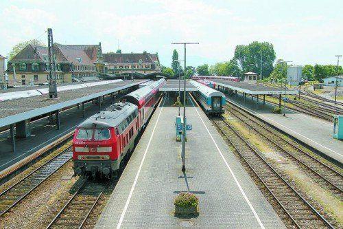 Giftiges Erbe der Dampflok-Ära in Lindau: Die Bahn sieht dennoch keinen Anlass für Sofortmaßnahmen. Foto: vol.at