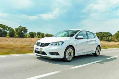 Golf-Kontrahent Nissan Pulsar: Nach vielen Jahren ein Comeback in Europa. Fotos: werk