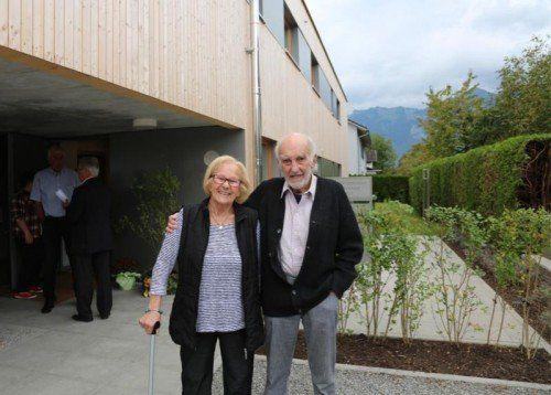 Herr und Frau Paul haben ihr neues Heim bereits bezogen.  Foto: koe