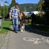 Hundeleinenpflicht auf Radwegen?