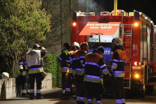 Hin und wieder nur mit Dampf hatten es die Bregenzer Feuerwehren zu tun.  Symbolfoto: VOL.AT/Schwendinger