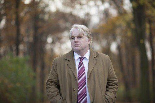 Hoffman spielt den Leiter einer geheimen deutschen Spionageeinheit in Hamburg. Foto: EPA
