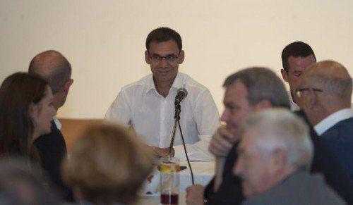 Holte sich gestern Abend im Parteipräsidium grünes Licht für Regierungsverhandlungen: LH Markus Wallner.  Foto: Stiplovsek