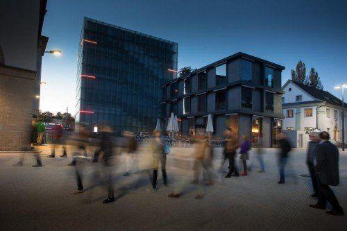 In der Kulturhäuser Betriebsgesellschaft (Kunsthaus, Landestheater, Museum) versucht man, die Eintrittspreise moderat zu halten.  Foto: VN