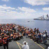 Tragödie vom Tod im Mittelmeer