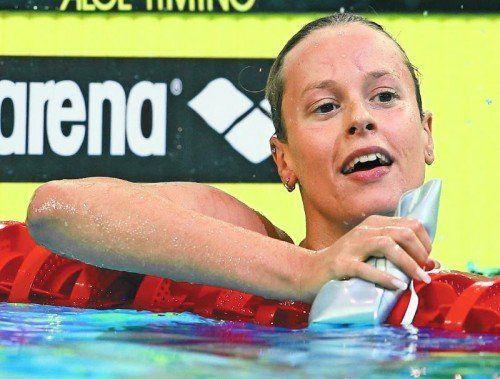 Im Schwimmen wird viel gedopt: Federica Pellegrini. Foto: ap