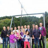 Lehrlinge bauen neue Seilbahn