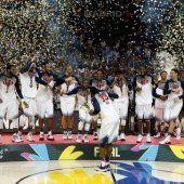 USA zelebrieren Basketball-Show