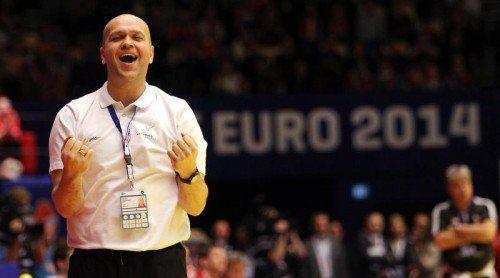 Johannesson nach der erfolgreichen WM-Qualifikation. Foto: gepa