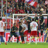 Salzburg erkämpft sich Remis