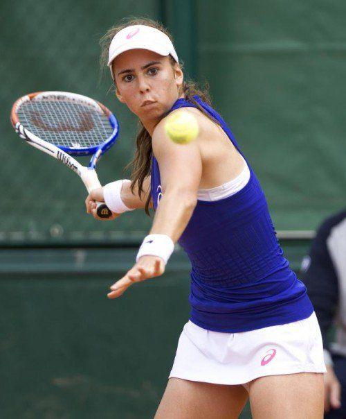 Julia Grabher feiert ihr Debüt auf der WTA-Tour. Foto: gepa