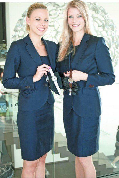 Julia Ritter (l.) und Vanessa Vogt.