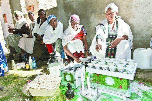 Kultur und Qualität äthiopischen Kaffees sind weltberühmt.