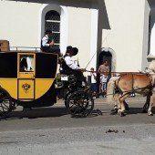 Prachtvolle Gespanne fuhren durch Dalaas
