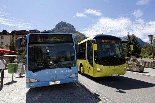 Land- und Stadtbus-Linien in Vorarlberg werden von privaten Busunternehmen serviciert.  Foto: Lisa Mathis