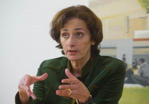 Bernadette Mennel fordert mehr Kompetenzen für die Bundesländer in der Schulpolitik.