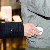 Bei Bierdosen und Handys wurden seine Finger lang