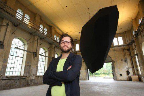 """""""Levitation"""" nennt der deutsche Architekt und Künstler Thilo Frank seine Installation für den Kunstraum Dornbirn.  Foto: Bernd Hofmeister"""