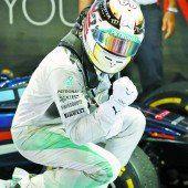 Hamilton brauste an die WM-Spitze