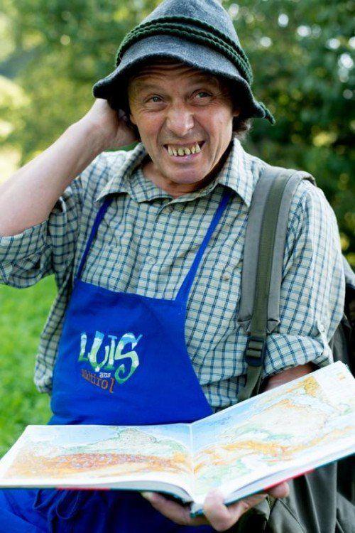 Luis aus Südtirol ist in seinem neuen Programm auf der Pirsch, um die Welt kennenzulernen. Foto: Martina Jaider