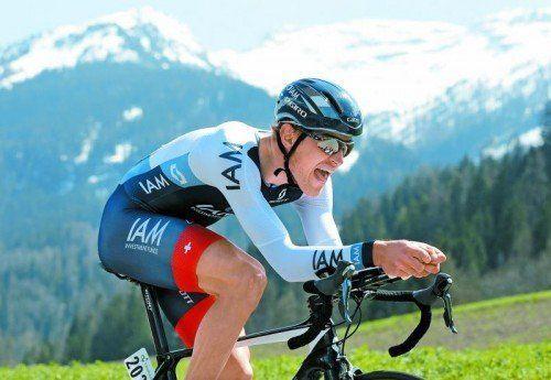 Matthias Brändle zeigte bei der Großbritannien-Tour mit zwei Etappensiegen auf. Foto: gepa