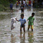 Tote und Verwüstung nach Taifun Kalmaegi