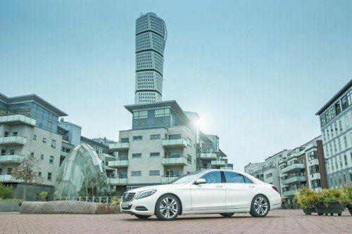 Mercedes-Benz S 500 Plug-in-Hybrid: Modernstes Hybrid-Antriebskonzept ganz ohne Verzicht. Fotos: werk