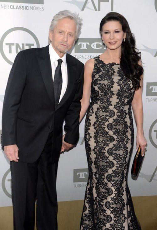 Michael Douglas und seine Catherine Zeta-Jones haben nach einer Krise wieder zusammengefunden. Rts