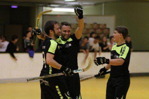 Michael Hammerer und Dominique Kaul erzielten je zwei Tore. Foto: schwämmle