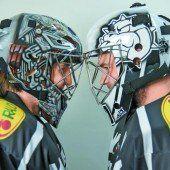 Bunte Maskeraden als Goalie-Glücksbringer