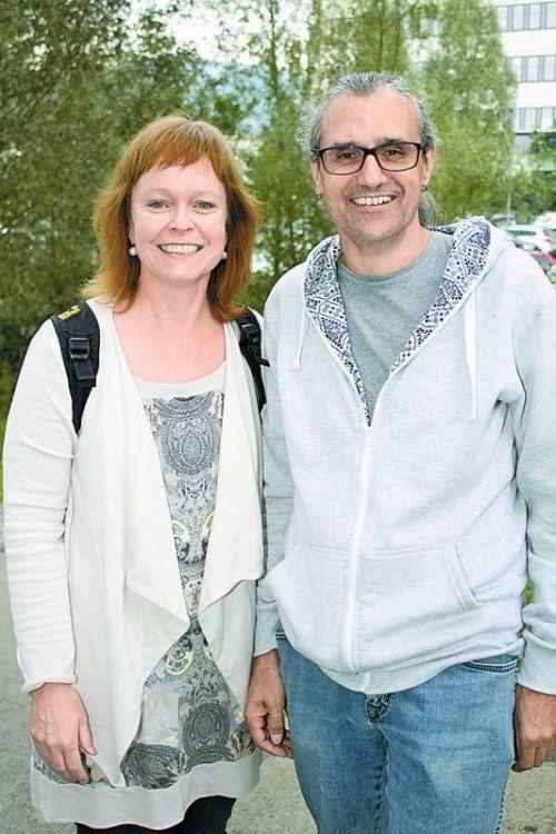 Monika Holzknecht und Marco Brugger.