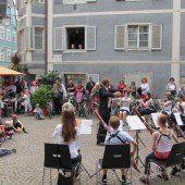 Wandelkonzert in Feldkircher Innenstadt