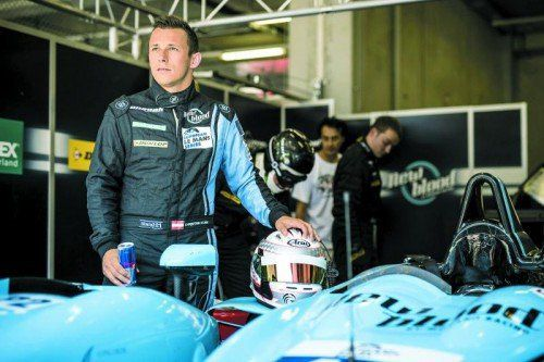 Nach acht Wochen Rennpause für das Rennen in Paul Ricard bestens motiviert: Christian Klien. Foto: manfred noger