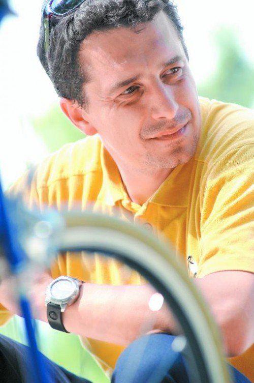 Neuer Chef der Radrundfahrt: Wolfgang Weiss. Foto: apa