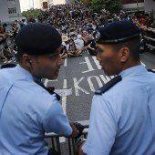 Proteste in Hongkong für mehr Demokratie weiten sich aus