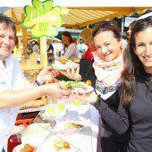 Mehr als 4000 Besucher stürmten das Bio-Fest in Bregenz