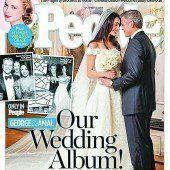 People-Magazine zeigt Hochzeitsbilder
