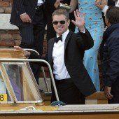 Prominente Gästeschar: Schauspieler Matt Damon . . .