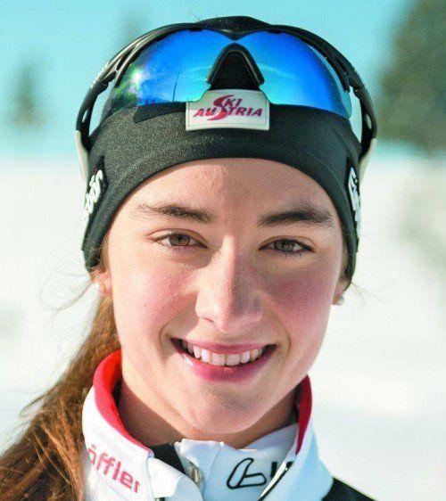 Rang drei und Juniorensiegerin: Jasmin Berchtold. Foto: akp