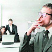 Rauchpausen umstritten