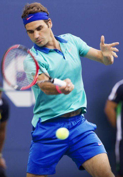 Roger Federer will mit der Schweiz in das Davis-Cup-Finale. Foto: gepa